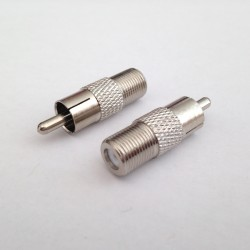 F/TV Male Plug Adaptor